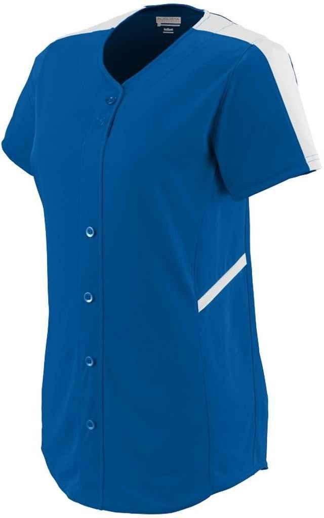 Augusta SportswearレディースCloser Softball Jersey B00P53W8HK Medium ロイヤル/ホワイト ロイヤル/ホワイト Medium