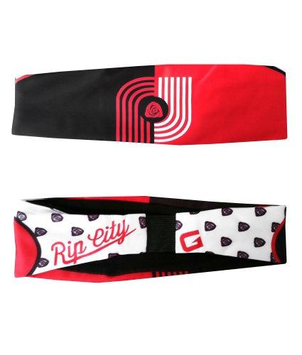 G206 Wear Portland Rip City Red Athletic Headbands