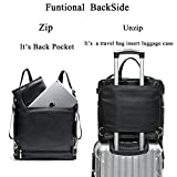 Leather Diaper Bag Backpack by Miss Fong, Diaper