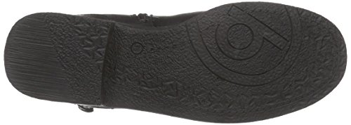 bugattiJ29561 - botas de caño bajo Mujer Negro - negro