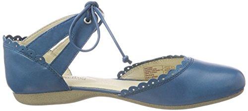 Ankle Josef UK Strap 4 Seibel Blau Women's Blue Sandals UK 500 Fiona 47 IgAf4