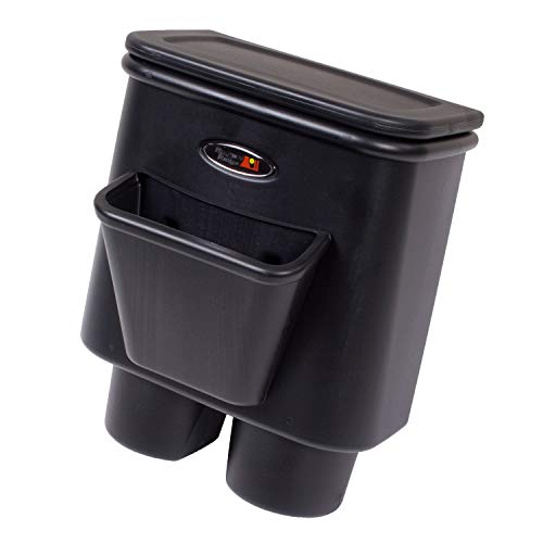 Rugged Ridge 13551.15 Rear Seat Organizer and Center Console Trash Bin (Omix Ada Console)