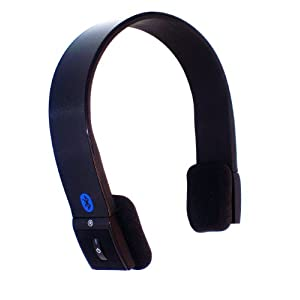 KOKKIA S10 Enhanced Data Rate Bluetooth Stereo Headset for Music and Voice - Luxurious Black