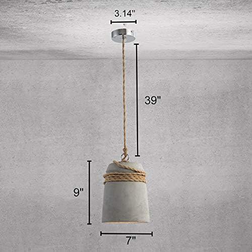 Concrete pendant lights _image0
