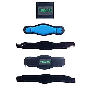 Tennis Elbow Brace with Compression Recovery Pad for Pain Relief. Great support for Women & Men. One size for all - Pain Relieving Brace against Epicondylitis and Injured Arms. Free Bonus E-book.