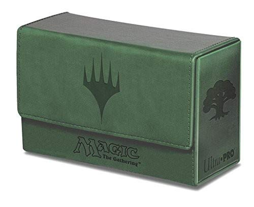 Green Ultra Pro 86192 Deck Box Dual Mana Flip