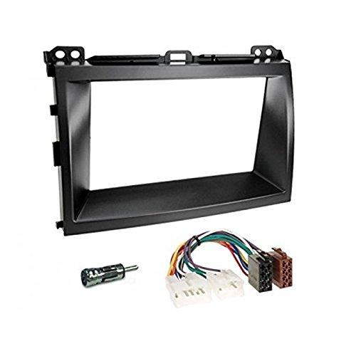 Kit Mascherina autoradio stereo TOYOTA 2DIN+ISO+adattatore antenna Sound-way