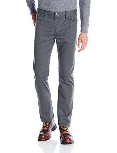 Pocket 5 Wide Leg - Dickies Men's Slim Taper 5-Pocket Pant, Stonewashed Charcoal, 38W x 32L