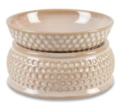CREAM HONEYCOMB Electric Fragrance Warmer by - Bridgewater Outlet