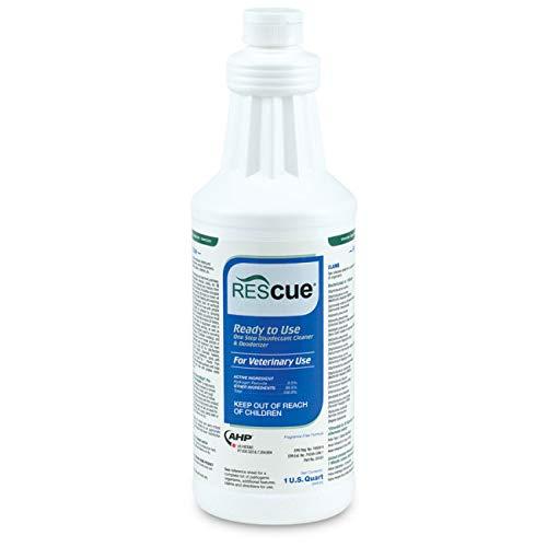 - Rescue RTU Disinfectant and Deodorizer, 32 oz