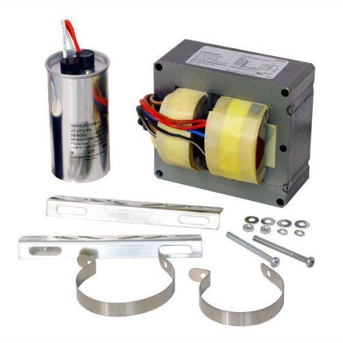 (PLT 87608 - 250 Watt - Metal Halide Ballast - 5 Tap - ANSI M58 - Power Factor 90% - Includes Dry Film Capacitor and Bracket Kit)