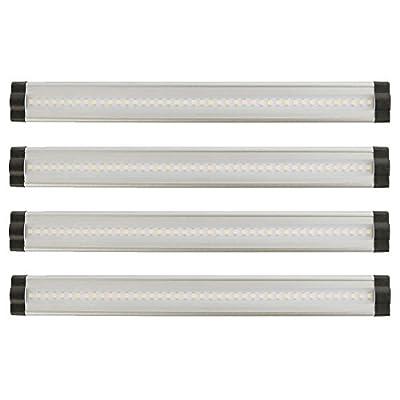 Lightkiwi 12 Inch Warm White Modular LED Under Cabinet Lighting - Premium Kit