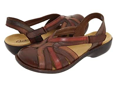 Clarks Ina Charm Womens Sandals Brown 6