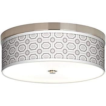 Amazon.com: Luxe Tile Giclee - Lámpara de techo (bajo ...
