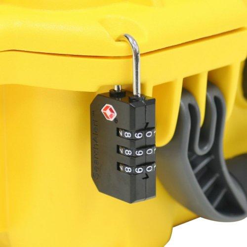 Nanuk 905 Case with Padded Divider (Orange)