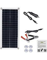 1000 W Solar Panel Kit 1 2V USB Opladen zonne-cel board controller draagbare waterdichte zonnecellen voor de telefoon RV Auto MP3-PAD