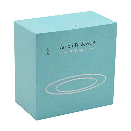 Argon Tableware Wide Rimmed Side/Dessert Plates - 154mm (6'') - Box of 6 by Argon Tableware (Image #3)