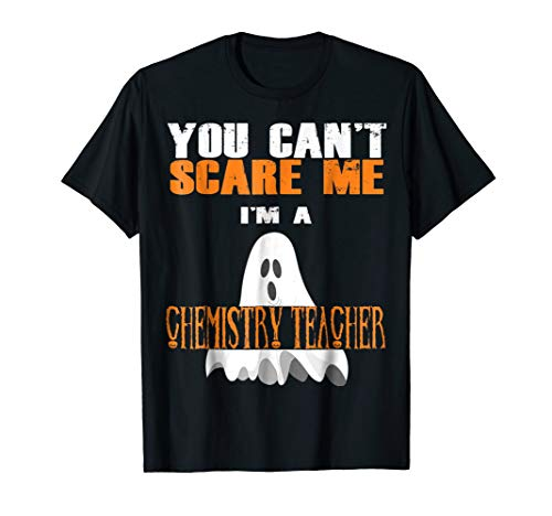Chemistry teacher T-Shirt Halloween Ghost costume ()