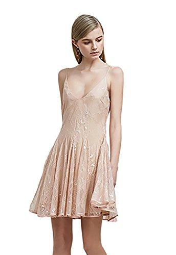 Keepsake Above Water Lace Dress in Rose (Medium)