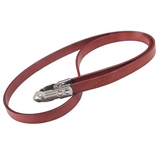 Genuine Leather Strap with Lugs for Rolleiflex MX-EVS Rolleicord VB TLR Camera