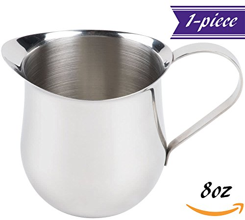 frothing pitcher 8 ounce - 7