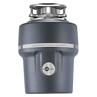 InSinkErator Essential XTR 3/4 HP Household Garbage Disposer Gray