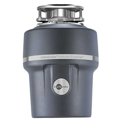 Insinkerator Essential XTR 3/4 HP Household Garbage Disposer, Gray