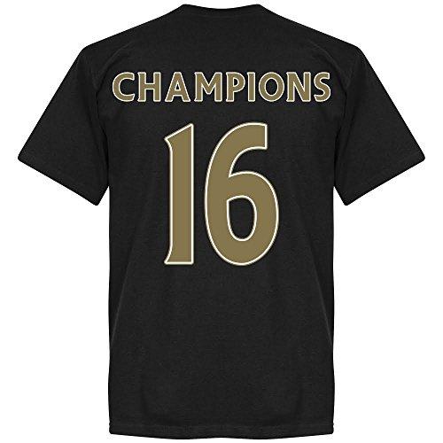 Leicester Champions maglietta, colore: nero