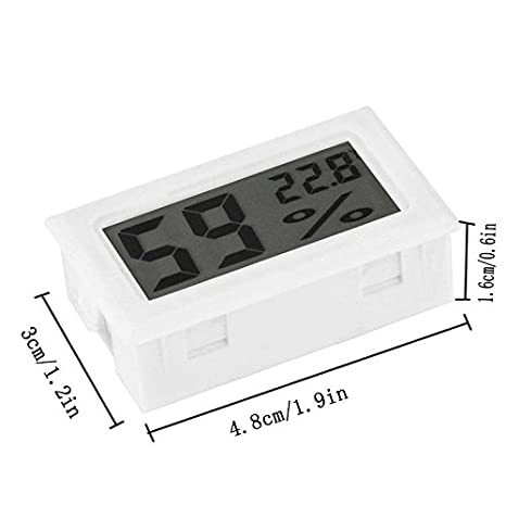 Mini Lcd Digital Thermometer - 1 Mini Lcd Digital Thermometer Hygrometer Temperature Indoor Convenient Sensor Humidity Meter Gauge Instrument - Medical Usb ...
