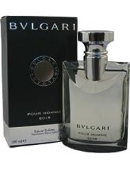 Bvlgari Soir Eau de Toilette Spray for Men, 3.4 Ounce