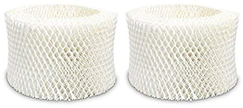 Nispira 2 Packs Holmes Type C Filter HWF65 HWF65PDQ-U Compatible Humidifier Wick Filter Replacement Fits HM1865, HM1895, SCM1866, SCM1895