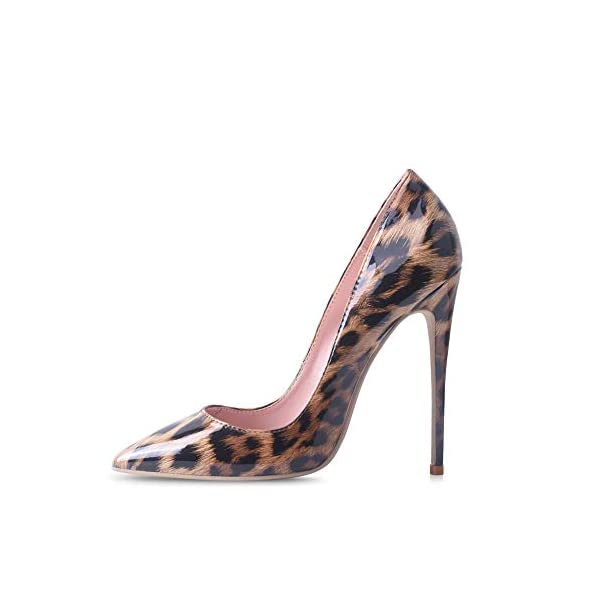 Elisabet Tang Women Pumps, Pointed Toe High Heel 4.7 inch/12cm Party Stiletto Heels Shoes