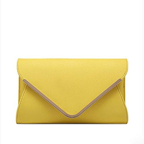 Meoaeo Nuevos Sobres Personalizados Son De La Mano Grab Bag Verde Claro Corte Transversal Cross lemon yellow
