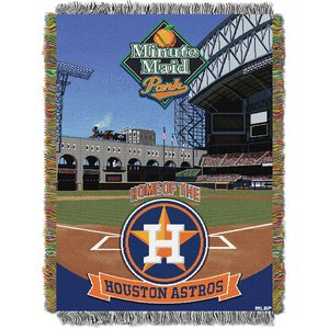Mlb Woven Tapestry Throw - The Northwest Company MLB Houston Astros Licensed Tapestry Woven Throw, One Size, Multicolor