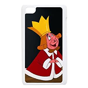 iPod Touch 4 Phone Case White Alice in Wonderland The King of Hearts JOI5654979
