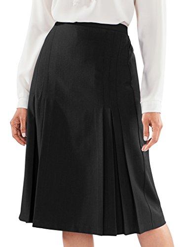 Tucks & Pleat Skirt (Inverted Pleat Skirt)