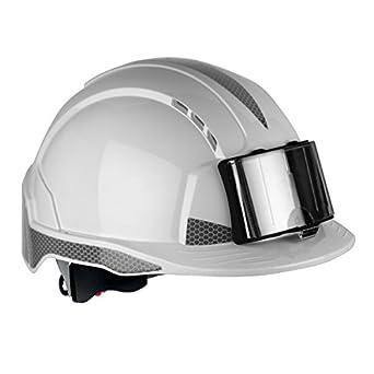 JSP ajb170-d00 - 100 Evolite, con CR2 y ID soporte para identificación de casco, color blanco: Amazon.es: Industria, empresas y ciencia