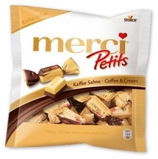 Amazon.com: Storck Merci Petits - Coffee Cream chocolates -125 g: Baby