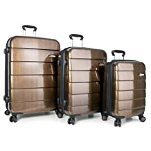 Heys Cronos Elite Bronze 3-piece Spinner Luggage Set