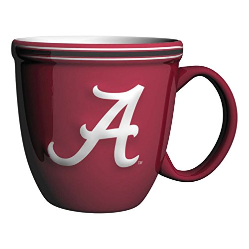 NCAA Alabama Crimson Tide Bistro Mug, 15-ounce, Red