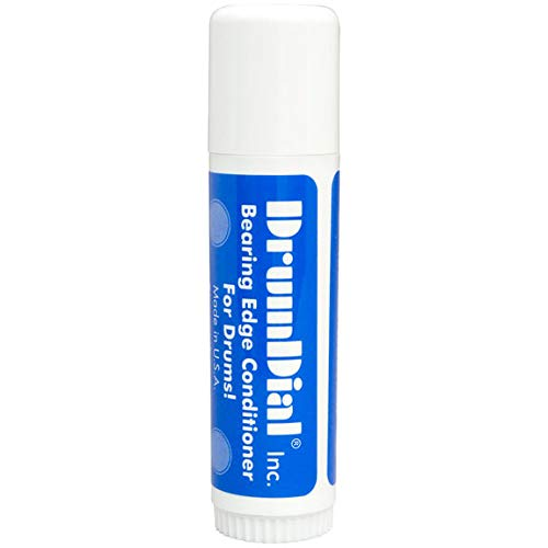 DrumDial Bearing Edge Conditioner for Drums - Strengthens and Conditions Bearing Contact with Drum Head (1 Tube) ()