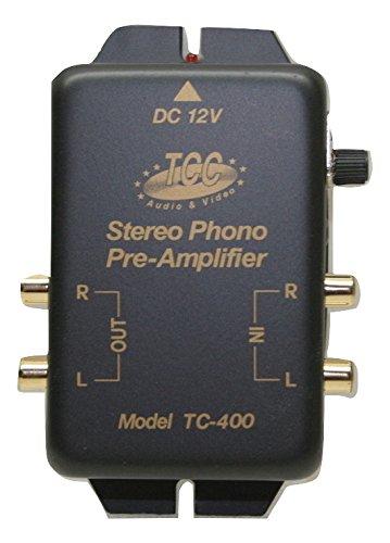 Tcc Tc 400G L Riaa Phono Preamp  Pre Amp  Preamplifier