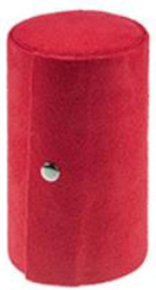 Collier Boucles doreilles Bague /étui de Rangement Cadeau danniversaire Portable D/éroule Pliable Affichage Bo/îte /à Bijoux MINGZE Velours Trois Couches cylindriques Bijoux bo/îte