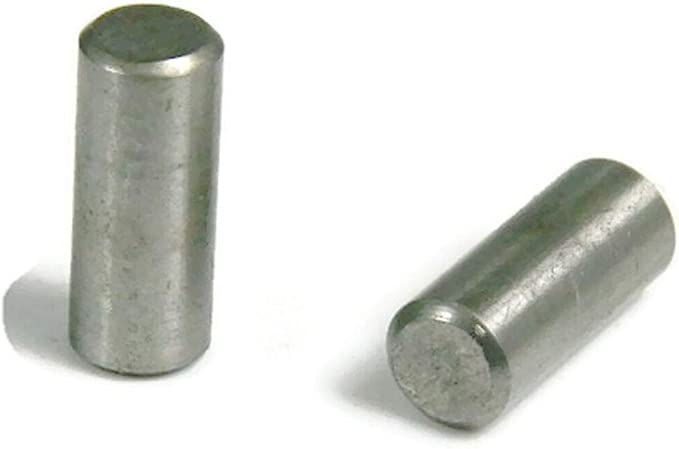 18-8 Stainless 3//16 x 1//2 Dowel Pin Pack of 20