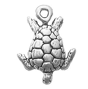 925 Sterling Silver Adorable Ocean Sea Turtle, Crush ...