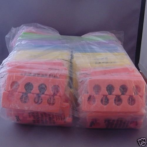 Individually Wrapped Toe Seperators 100 Pairs Assorted by Ikonna by Ikonna