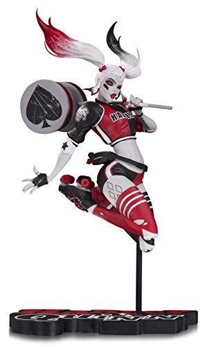 DC Collectibles Harley Quinn by Jae Lee Statue Red Resin Statue