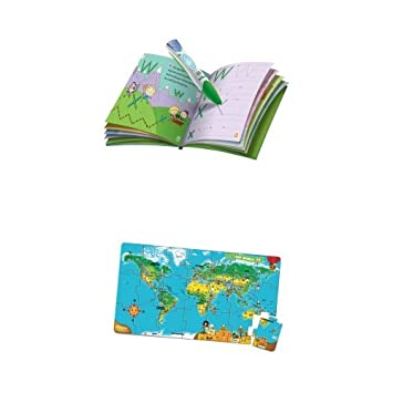 Leapfrog leapreader reading and writing system green leapfrog leapfrog leapreader reading and writing system green leapfrog leapreader book interactive world map gumiabroncs Gallery