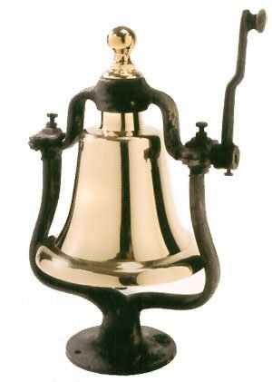 16.5'' X 8'' Brass Victory Bell by HS