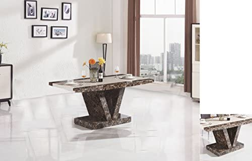 Star boni tavolo da pranzo con effetto marmo design moderno